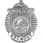 belmont police badge
