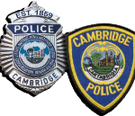 cambridge police patch badge